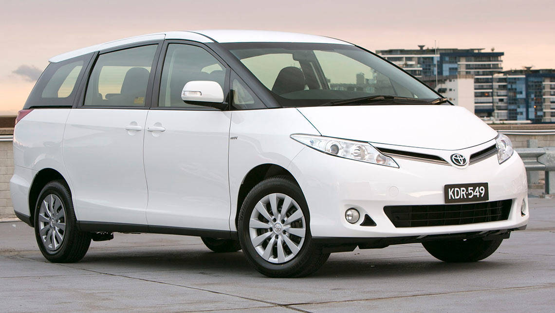 Used Toyota Tarago Review 1990 2013
