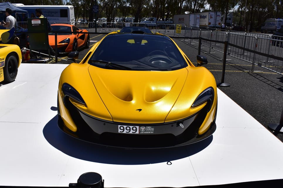 Yes, I had a fanboy moment seeing the P1. (image credit: Mitchell Tulk)