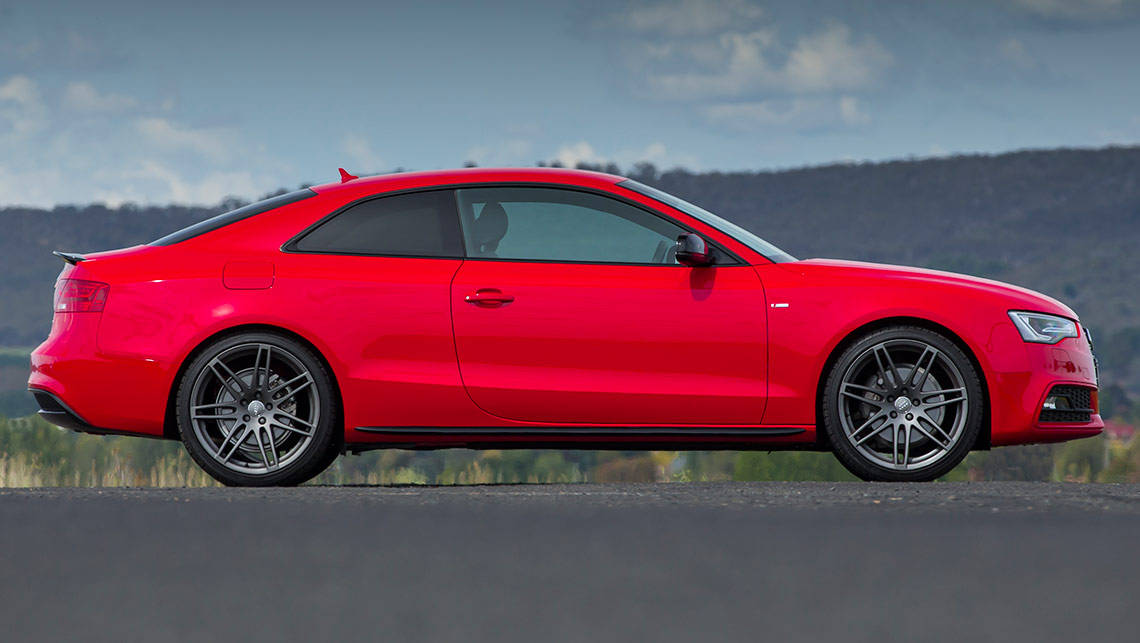 audi a5 coupe 2 0 tfsi quattro 2014 review carsguide. Black Bedroom Furniture Sets. Home Design Ideas
