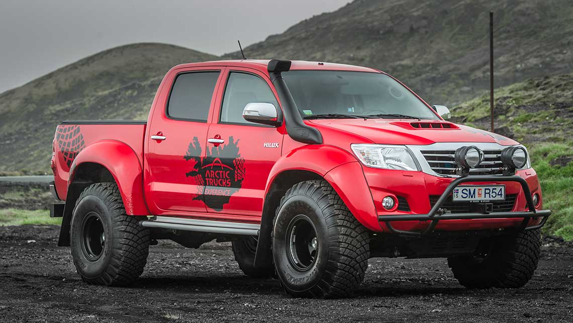 Toyota HiLux monsters in the Arctic - Car News | CarsGuide