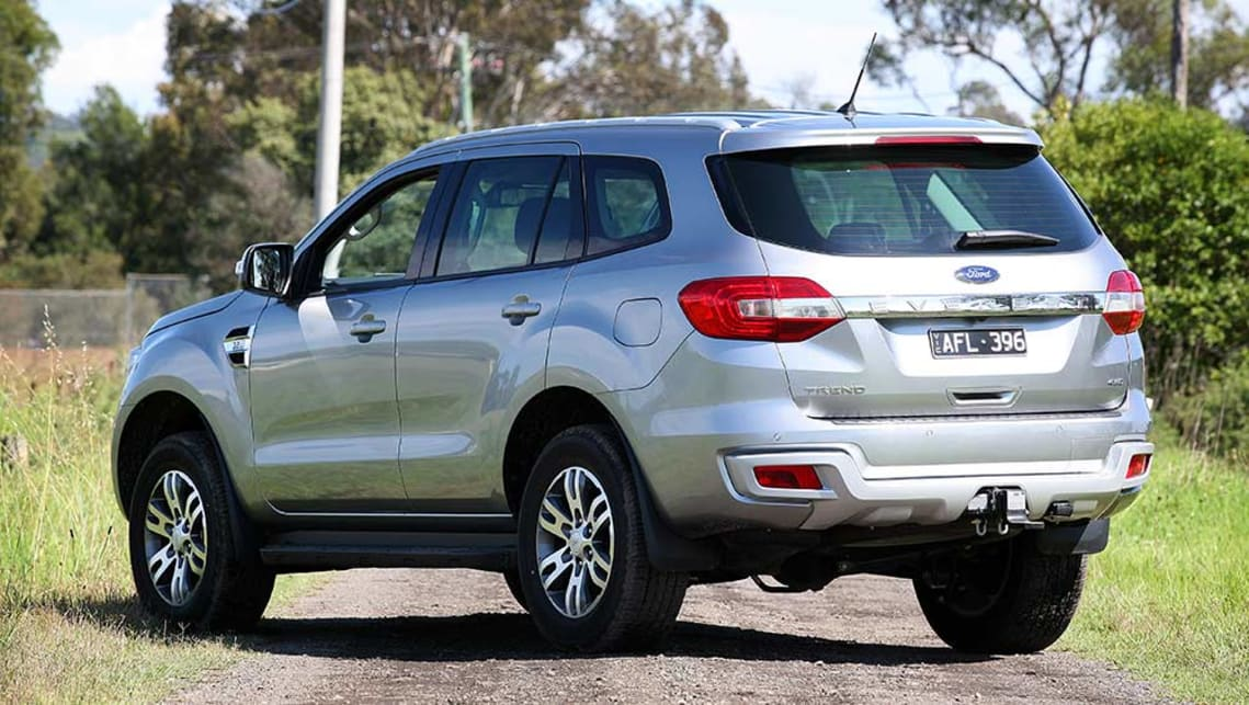 Best 7 Seater Suv >> 2016 Ford Everest Trend review | road test | CarsGuide