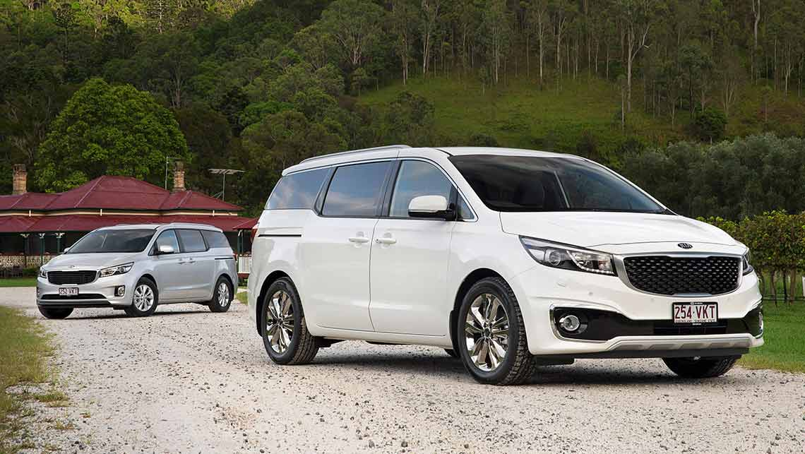 kia carnival diesel and v6 2015 review carsguide. Black Bedroom Furniture Sets. Home Design Ideas