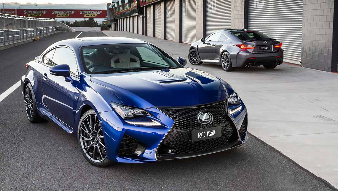 lexus rc f 2015 review carsguide. Black Bedroom Furniture Sets. Home Design Ideas