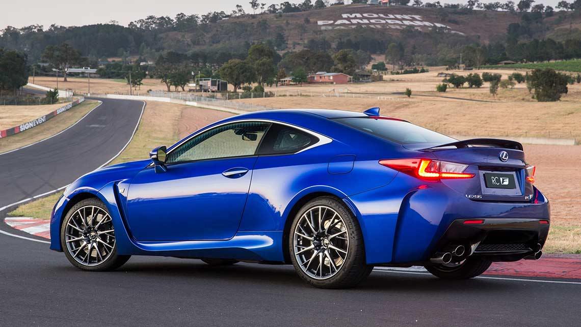 2015 lexus rc f review first drive carsguide. Black Bedroom Furniture Sets. Home Design Ideas