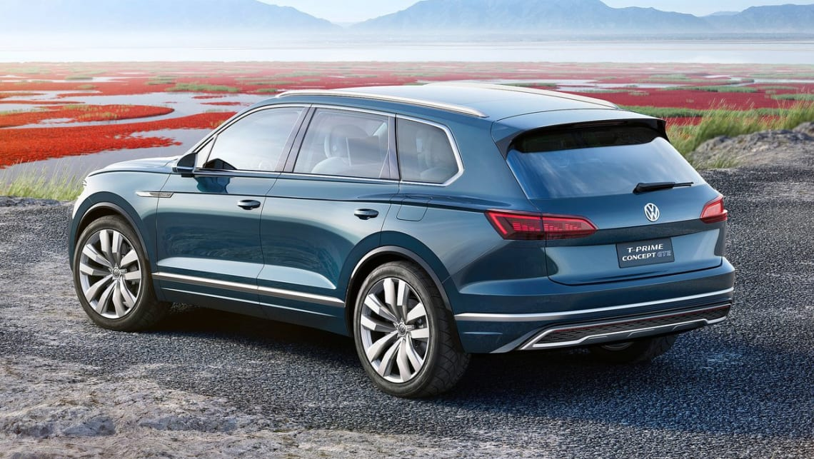 Volkswagen Touareg 2018 Spied Testing Car News Carsguide