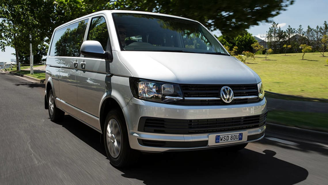 The Volkswagen Caravelle has ISOFIX points on all second and third row seats.