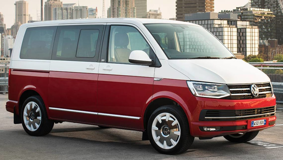 The Volkswagen Multivan has ISOFIX points on each of the captain seats and on the outer seats of the bench row.