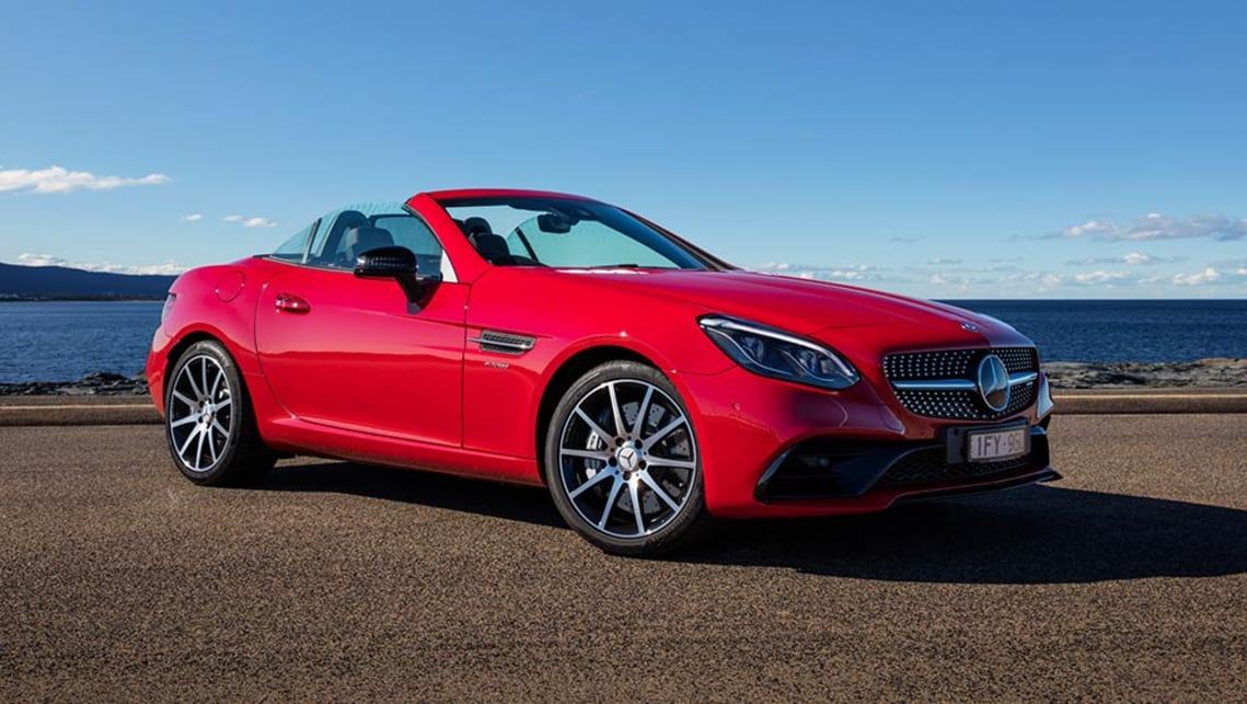 Mercedes benz slc 300 2016 review carsguide for Mercedes benz 300 price