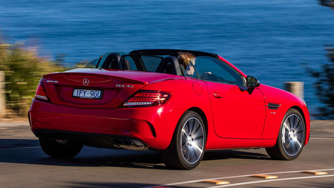 Mercedes-Benz SLC 300 2016 review | CarsGuide