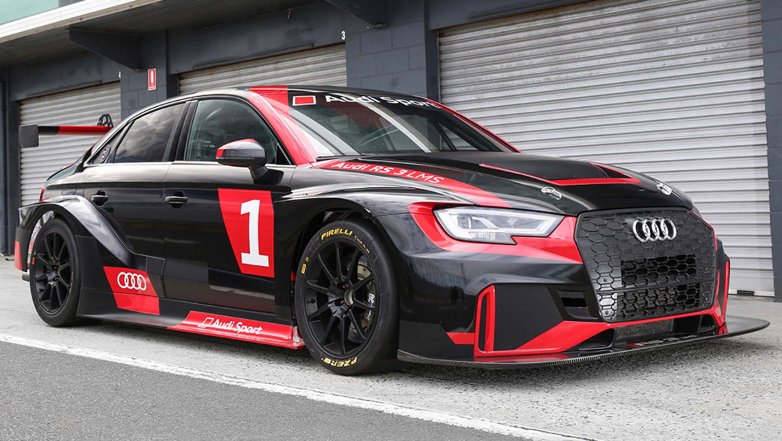 we 39 ve been behind the wheel and under the skin of the audi rs3 lms racer carsguide oversteer. Black Bedroom Furniture Sets. Home Design Ideas