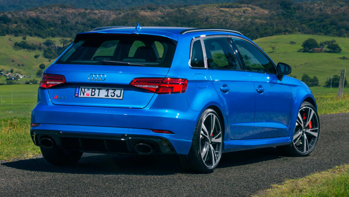 audi rs3 sportback 2017 pricing and spec confirmed car. Black Bedroom Furniture Sets. Home Design Ideas