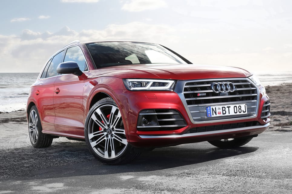 At the top of the line-up is the SQ5, a high-performance member of the Q5 family.