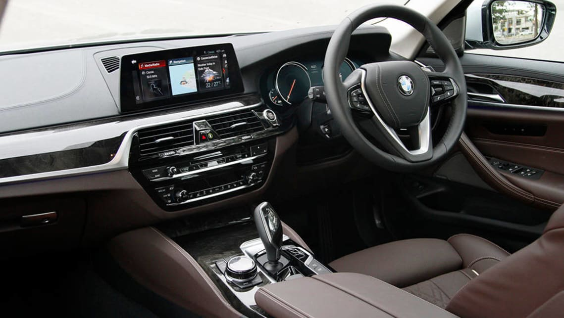 Bmw 530i 2017 review carsguide 2017 bmw 530i image credit peter anderson sciox Choice Image