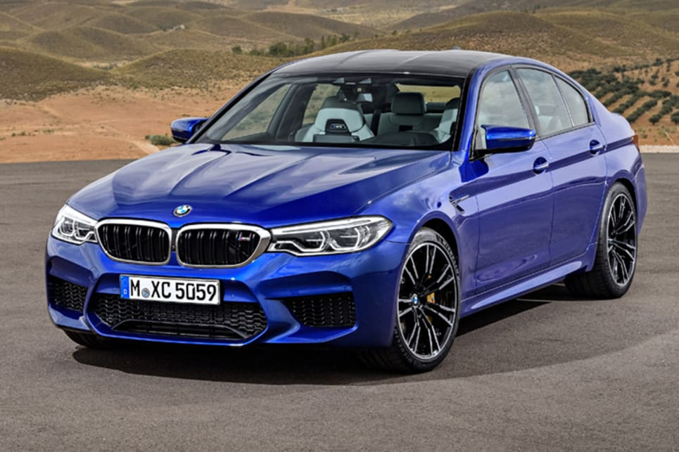 BMW M5 2018 revealed ahead of Frankfurt