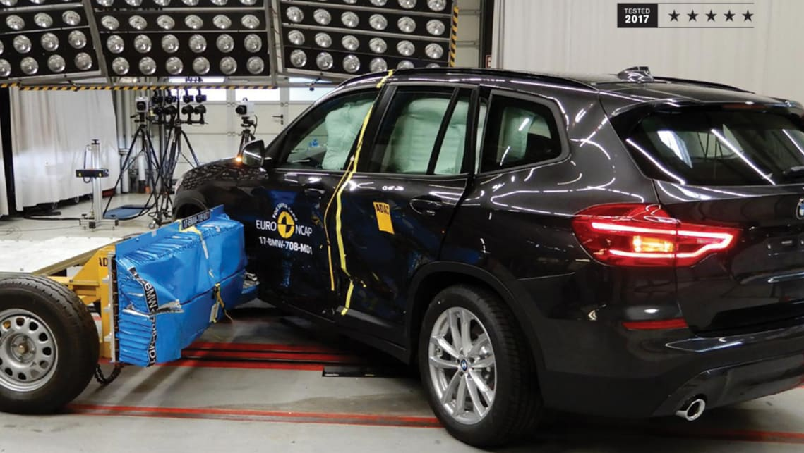 The five-star ANCAP safety rating exclusively applies to the X3 xDrive20d, which went on sale earlier this month alongside the unrated xDrive30i and xDrive30d variants.