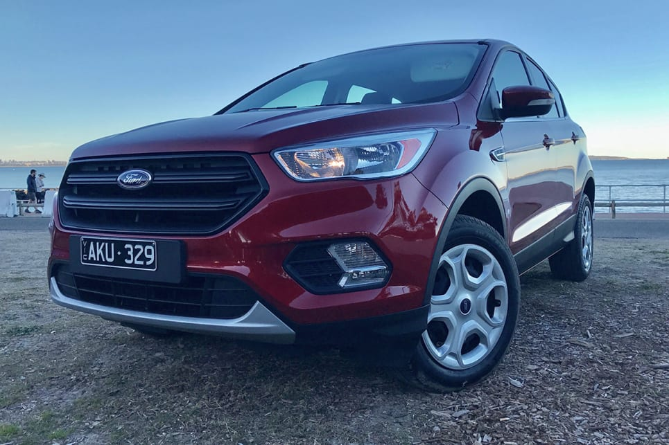 The Escape's ride is a standout, coming mighty close to matching the Australian-tuned suspension of the Hyundai Tucson. (image credit: Peter Anderson)