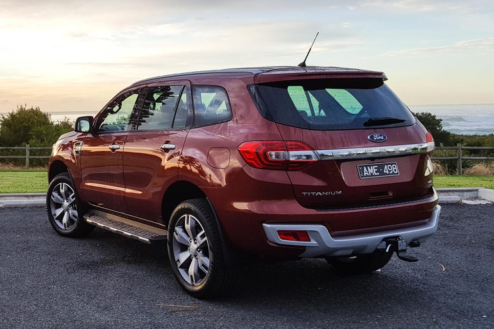 2017 Ford Everest (Titanium variant shown). (Image credit: Tim Robson)