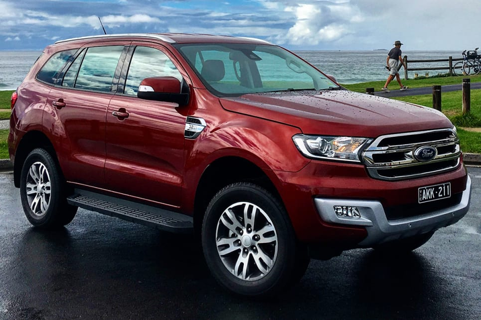 Ford Everest Trend Rwd 2017 Review Carsguide