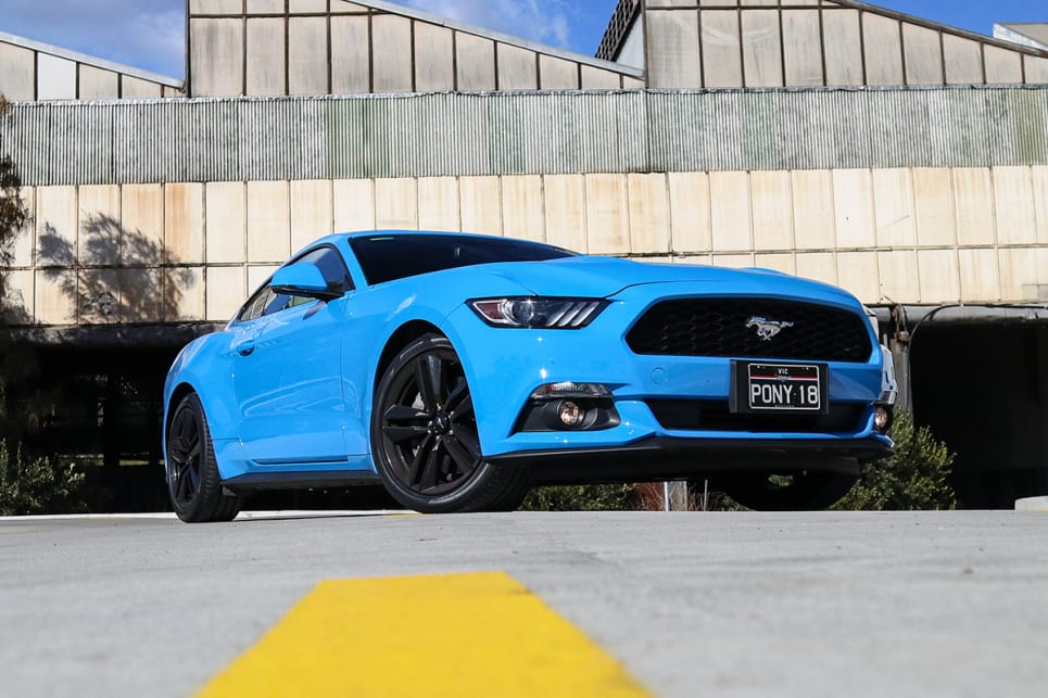 Visually There Isn 039 T Much Difference Between The Ecoboost And Gt Mustang