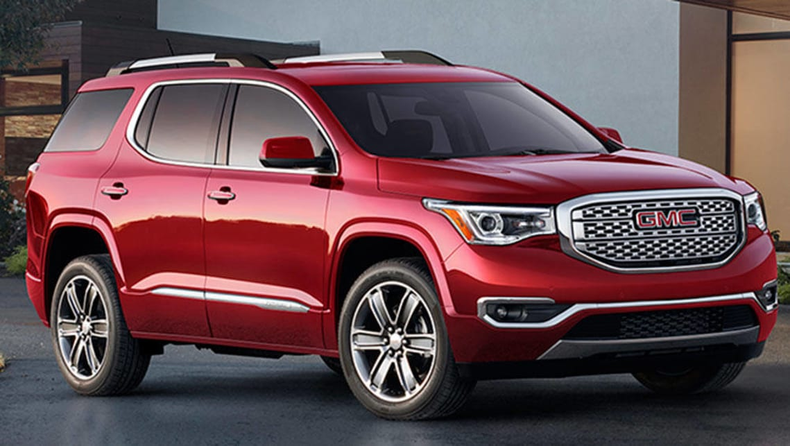 GMC Acadia heading to Australia as a Holden  Car News  CarsGuide