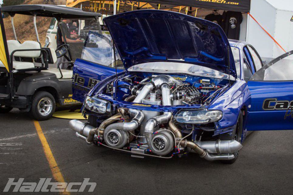 This 3000hp twin-turbo big block Commodore is aiming for a 6.5 ...