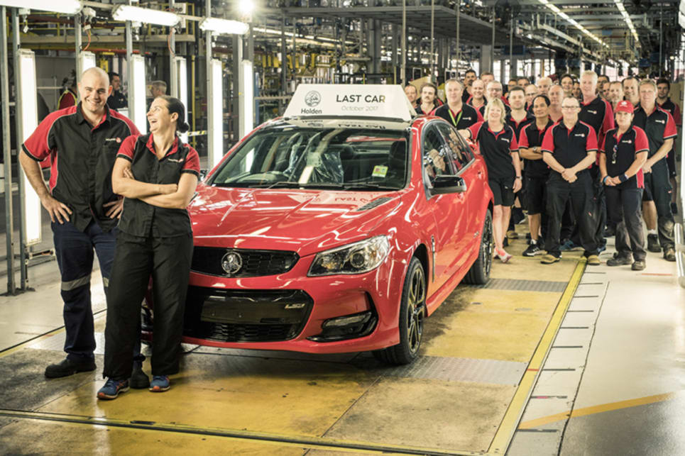 holden car manufacturing draws to a close - car news | carsguide
