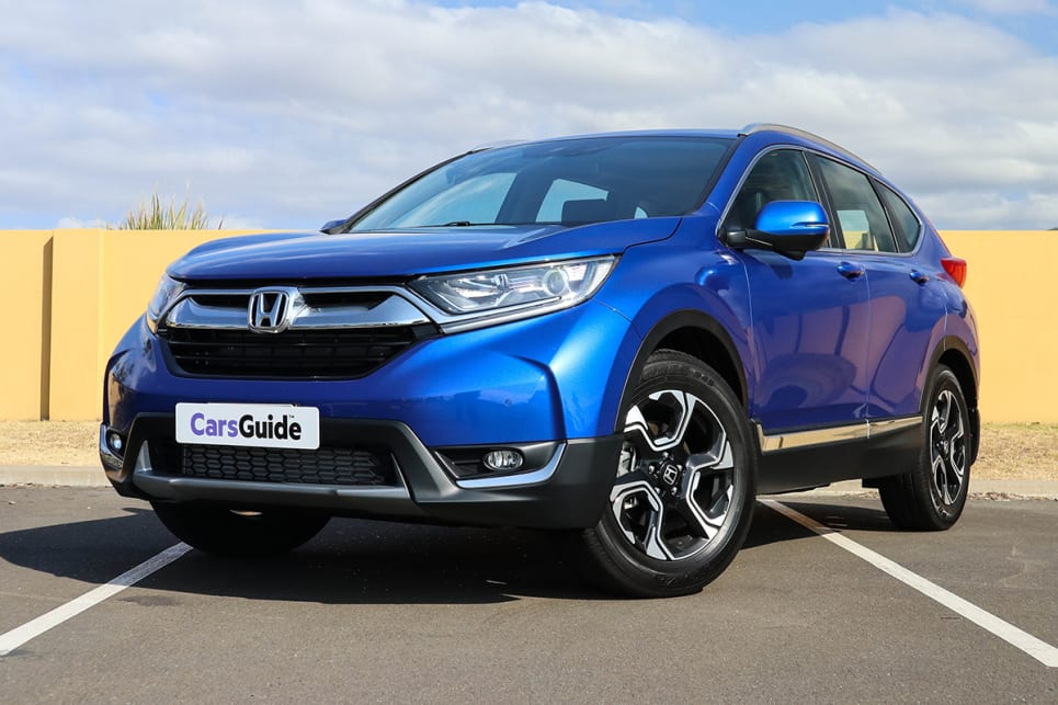 The Chunky Bold CR V Offers A Strong Visual Presence On Road