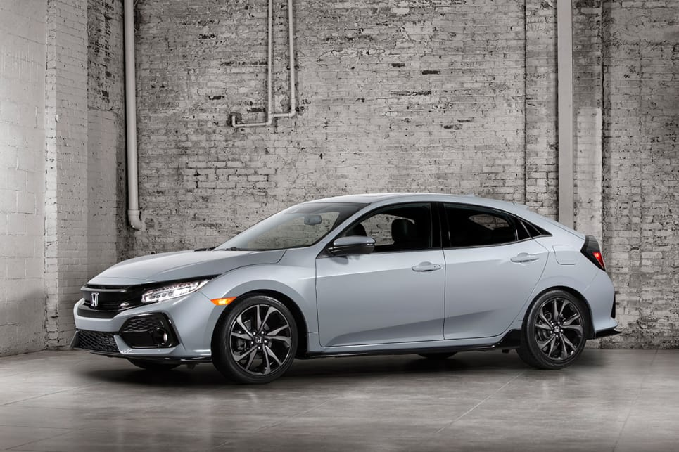 2017 Honda Civic hatch.