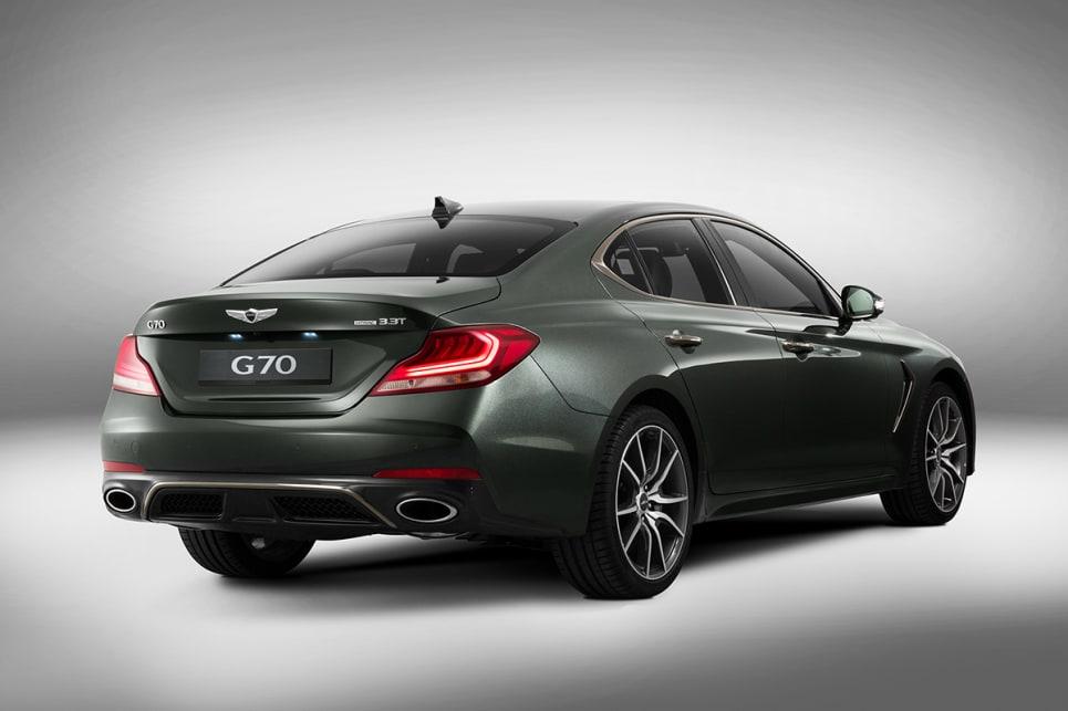 Genesis G70 2018 Revealed Car News Carsguide