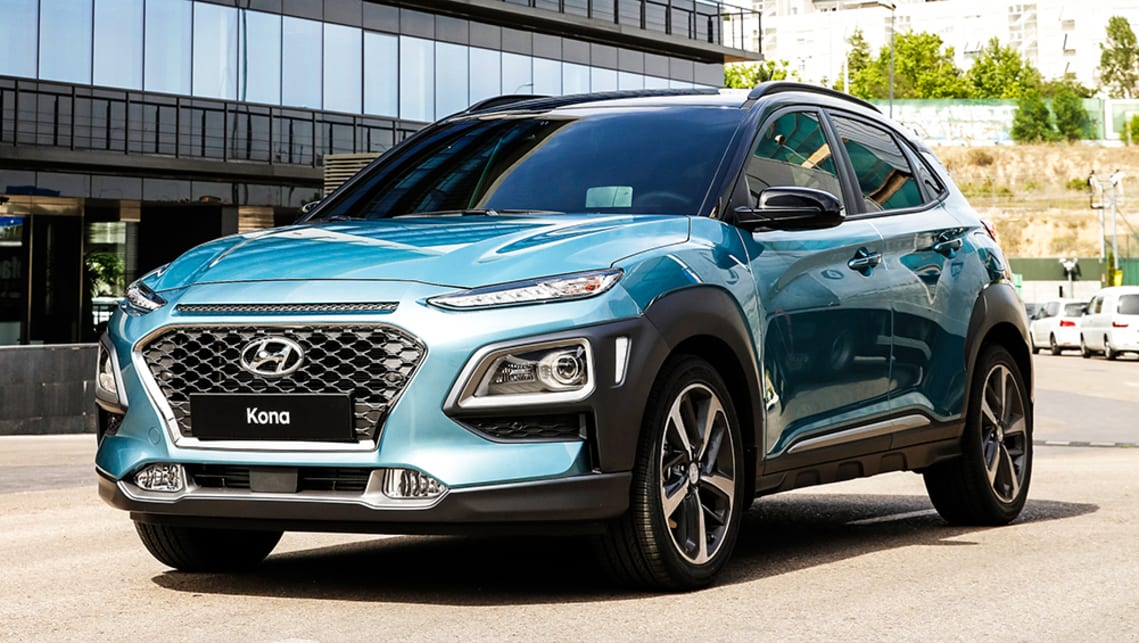 Hyundai Kona 2017 Suv Revealed Car News Carsguide