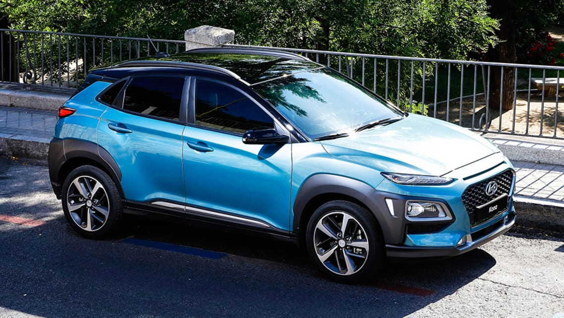 hyundai kona 2017 suv revealed car news carsguide. Black Bedroom Furniture Sets. Home Design Ideas