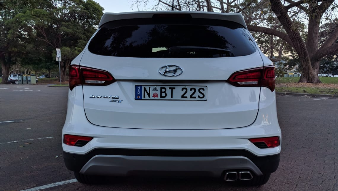 hyundai santa fe active x 2017 review: weekend test | carsguide