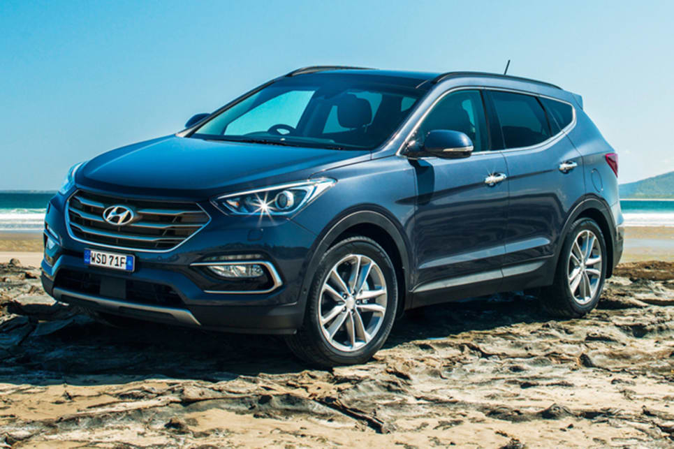 hyundai santa fe 2018. beautiful 2018 hyundai santa fe 2018 pricing and spec confirmed and hyundai santa fe