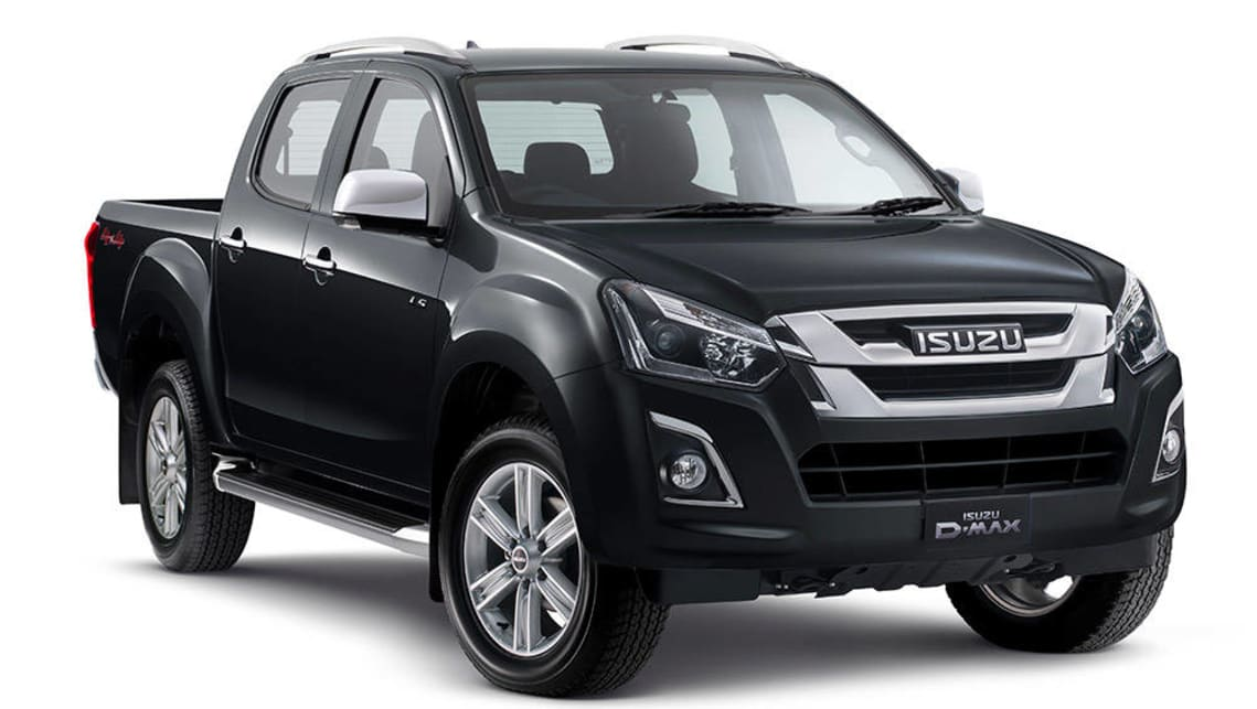isuzu d max ls t 2017 review snapshot carsguide. Black Bedroom Furniture Sets. Home Design Ideas
