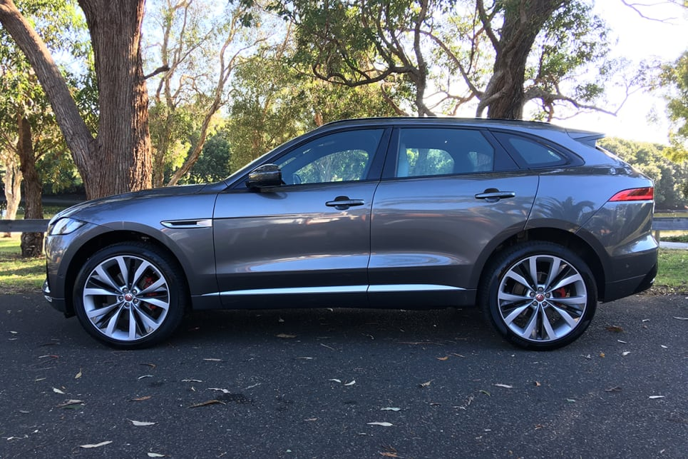 No doubt about it, the F-Pace was the best-looking SUV on sale.