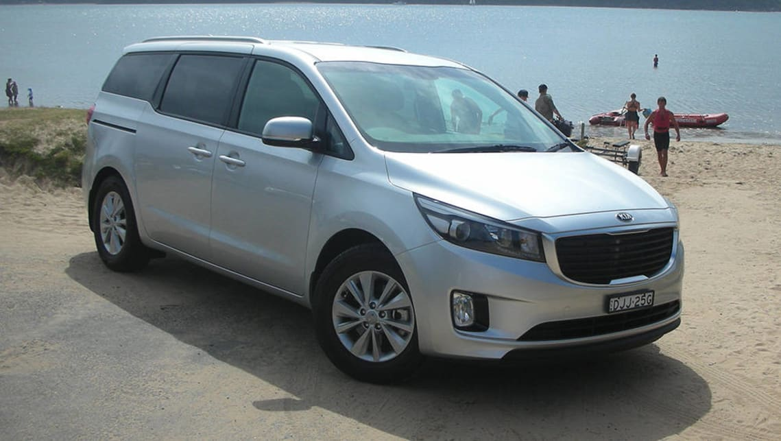 For larger families, people movers such as the Kia Carnival come into their own.