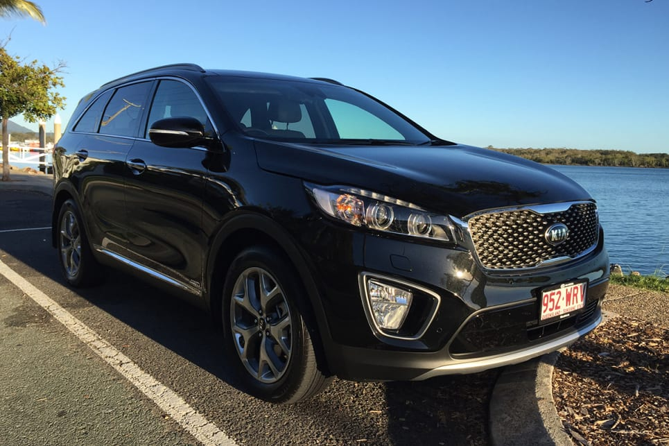 Jeep 7 Seater Suv >> Kia Sorento Platinum 2017 Review | CarsGuide