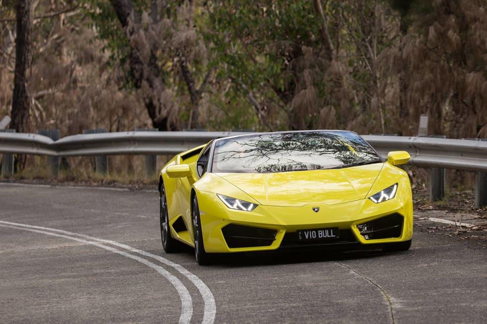 Lamborghini Huracan Lp 580 2 Spyder 2017 Review Carsguide
