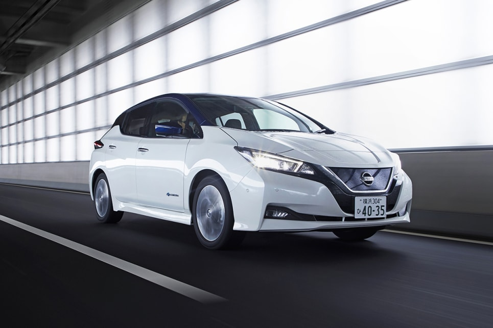The new Nissan Leaf launched just over a month ago in a blaze of light and sound in Tokyo.