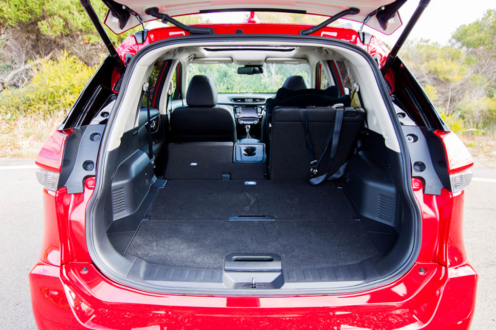 The new model has a decent boot space at 565 litres, but it's no football field.