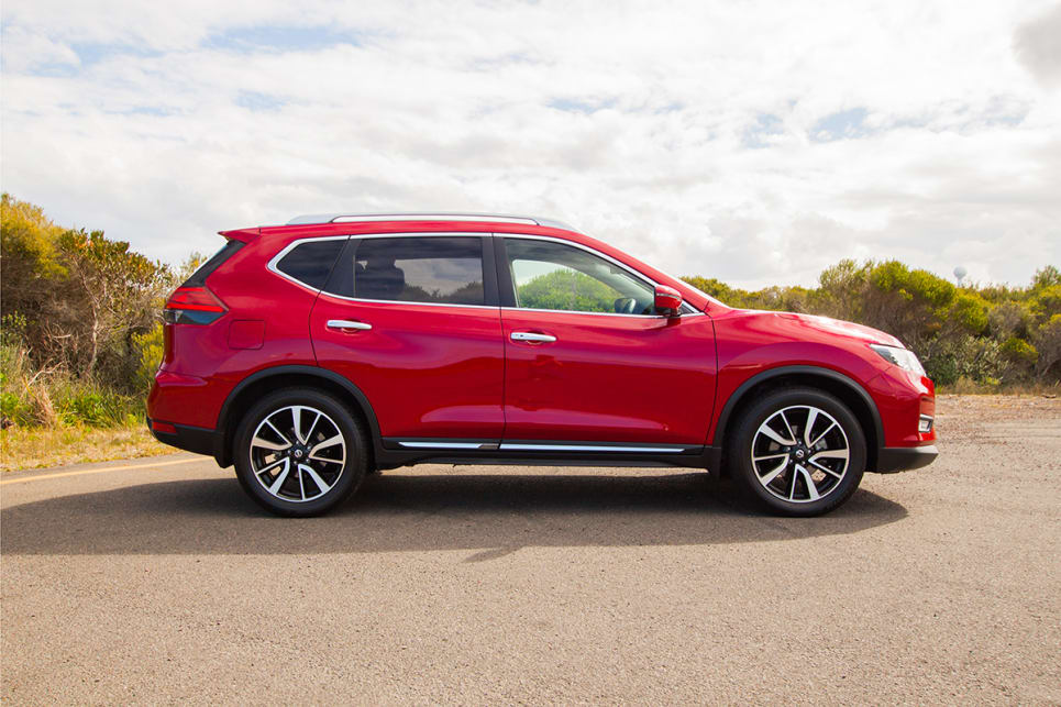 For a mid-sized SUV, the X-Trail is big, and she makes you feel big too.