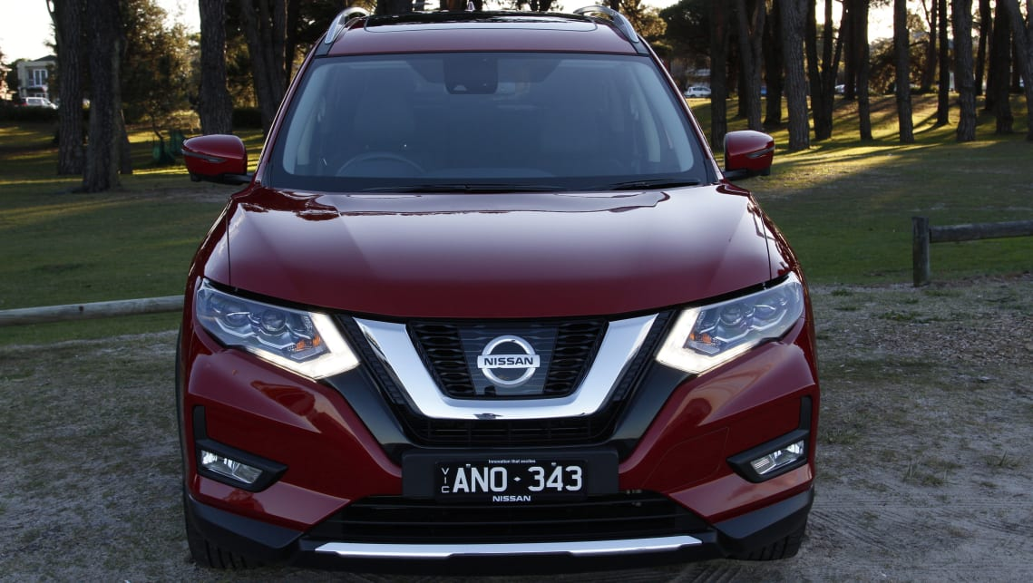 nissan x trail ti 2017 review carsguide. Black Bedroom Furniture Sets. Home Design Ideas