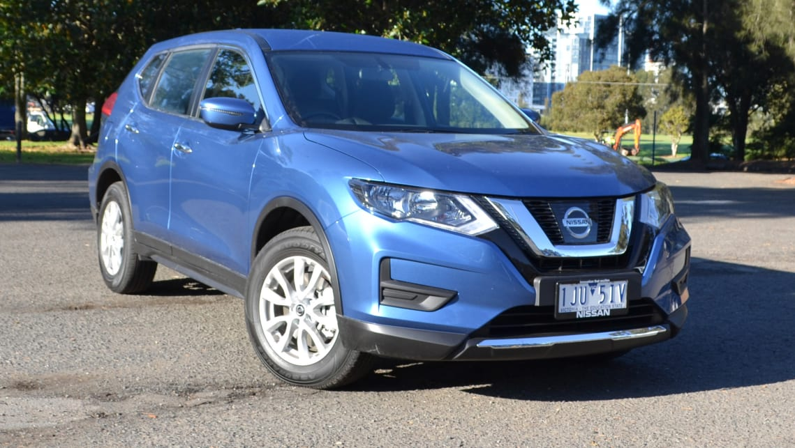 nissan x trail st 2wd 7 seat 2017 review carsguide. Black Bedroom Furniture Sets. Home Design Ideas