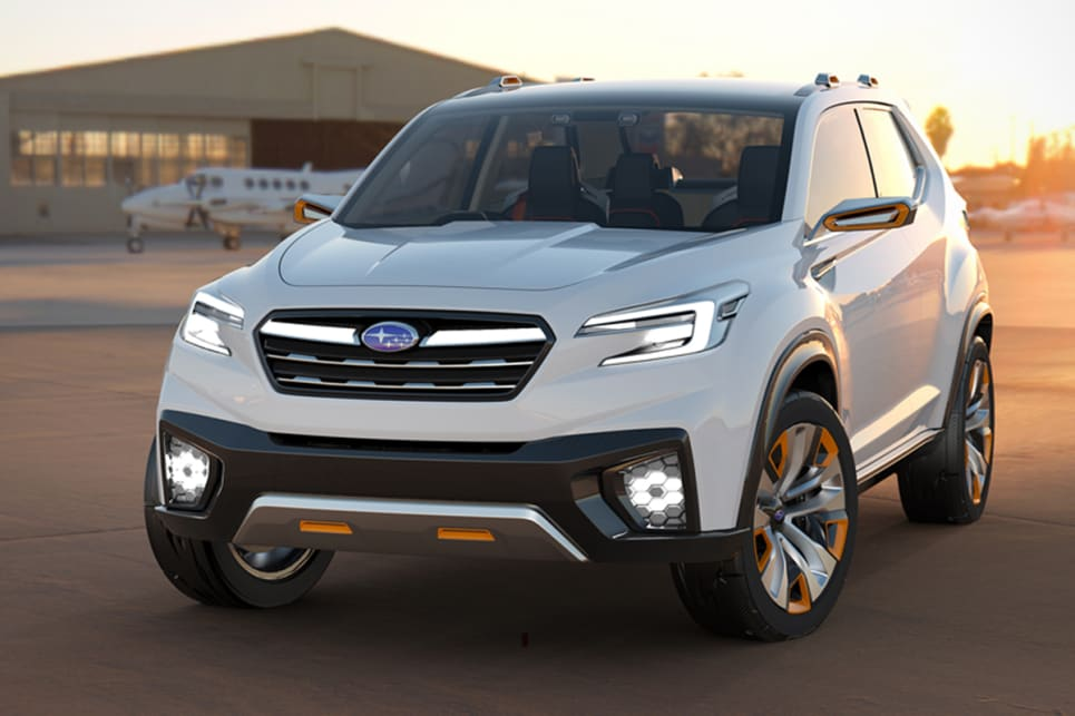Subaru Forester 2018 Set For Second Half Launch Car News Carsguide