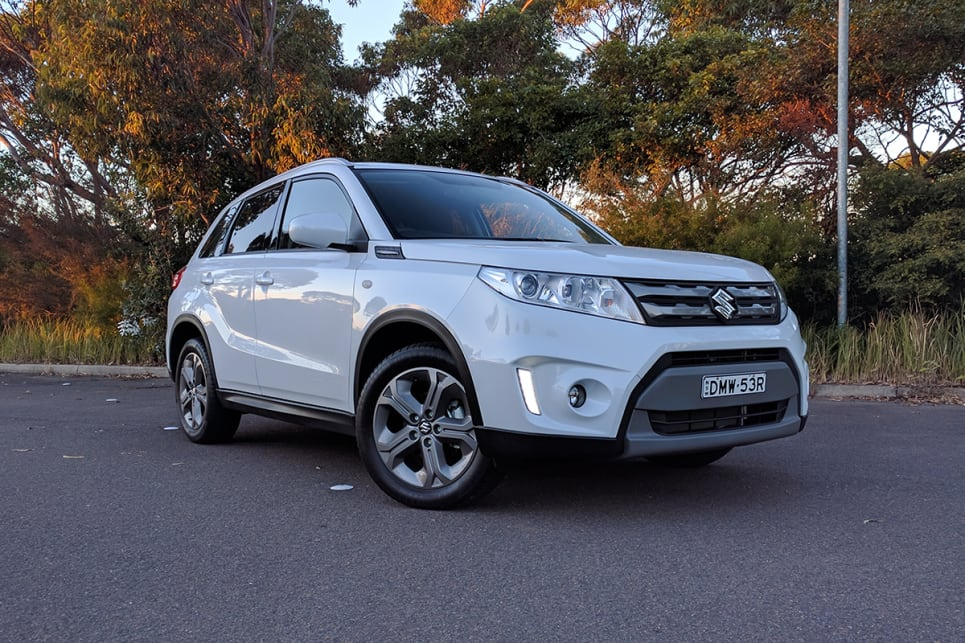 The Vitara's exterior styling, on closer inspection, wasn't as tall or as square as I had expected. (image credit: Dan Pugh)