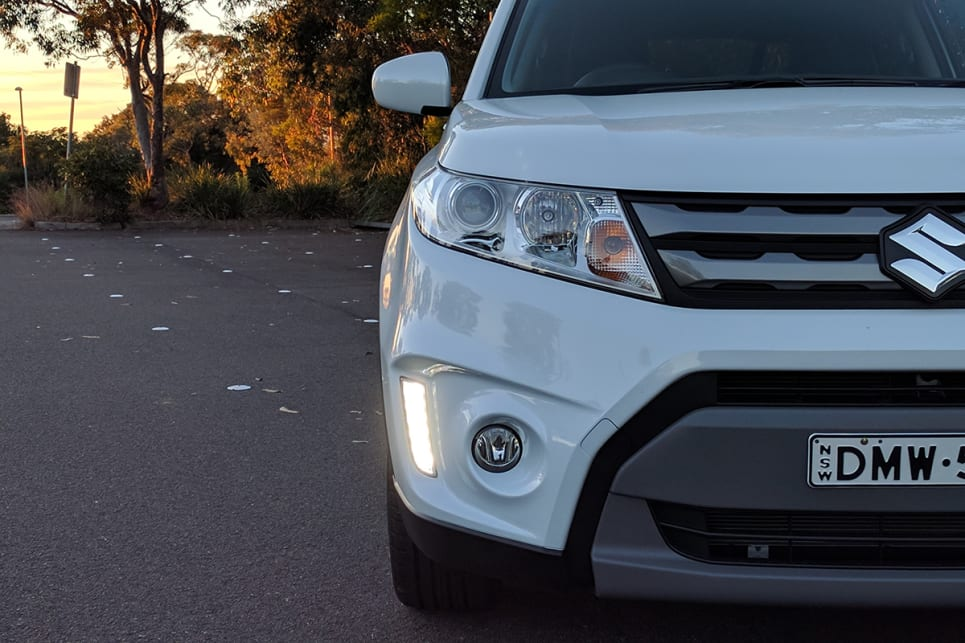 The Vitara RT-S comes standard with LED running lights. (image credit: Dan Pugh)