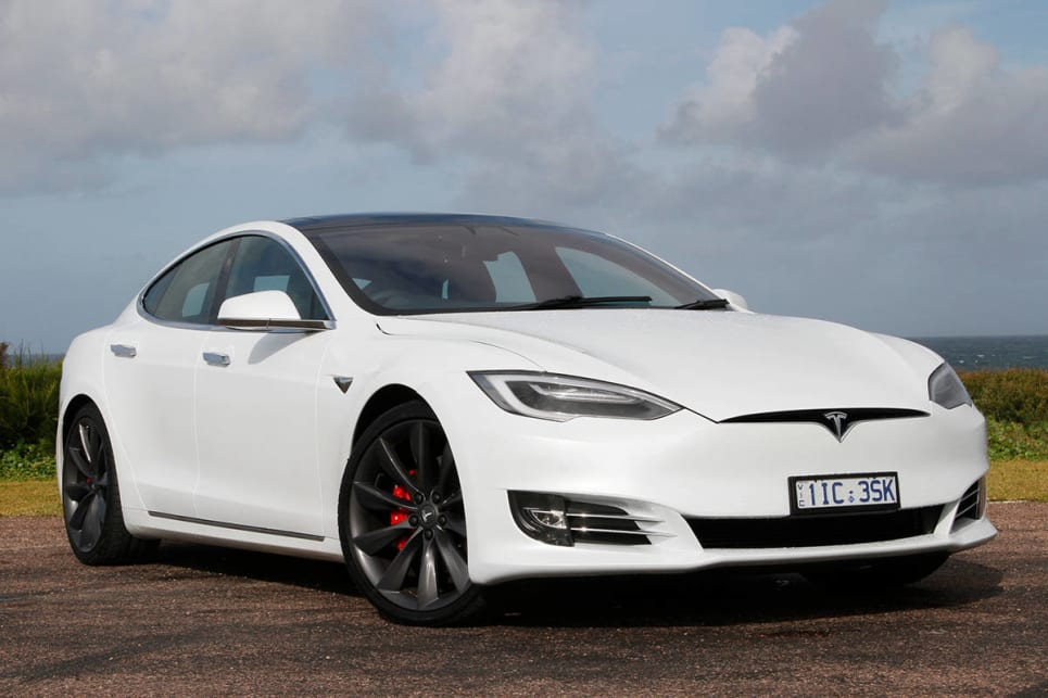 tesla model s p100d 2017 review carsguide. Black Bedroom Furniture Sets. Home Design Ideas
