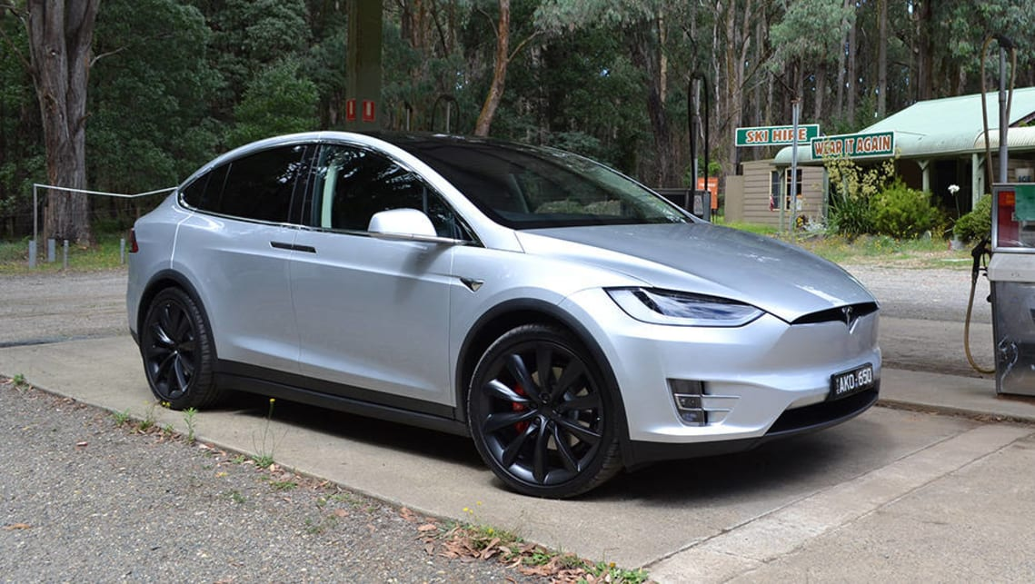 The Tesla Model X is one of the few cars in Australia that can fit three ISOFIX car seats across the back seat.