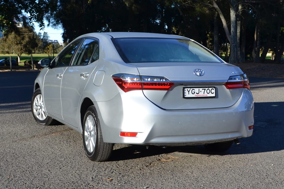 Toyota Corolla Ascent sedan. (image credit: Richard Berry)