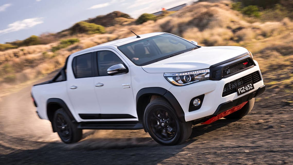 Toyota reveals HiLux TRD kit and Tonka concept  Car News  CarsGuide